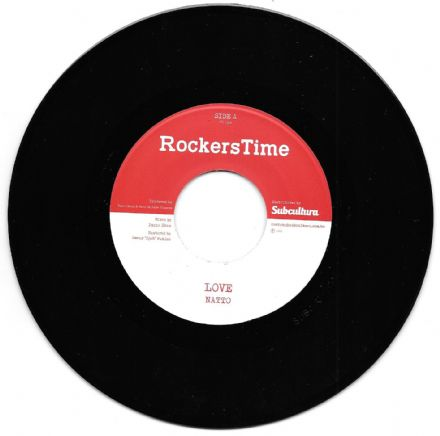 Natto - Love / Puppa Shan - Love Version (Rockers Time) 7""